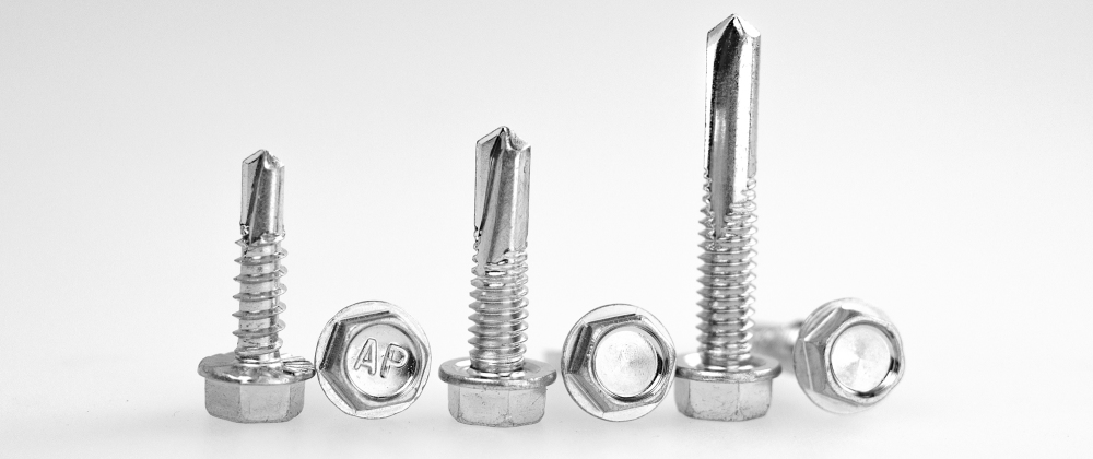 trio of tek screws