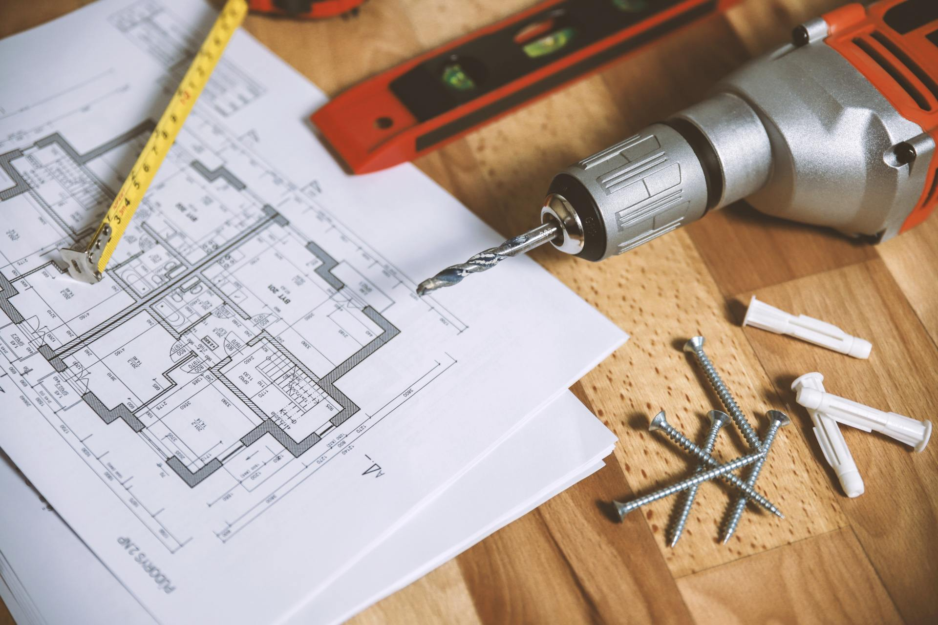 tools with blueprint