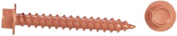 copper unslotted needlepoint screw