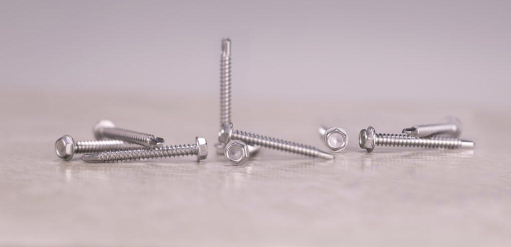 stainless self drilling passivated tek screw