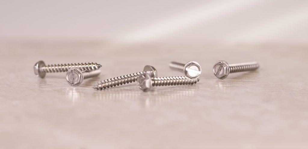 stainless sheet metal hex screw