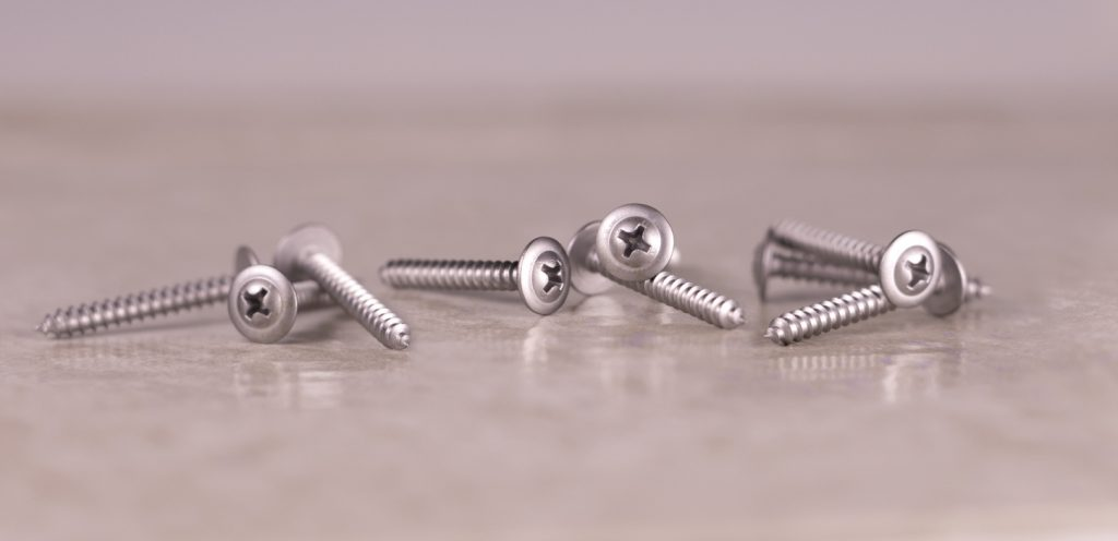 410 stainless sheet metal screw modified truss