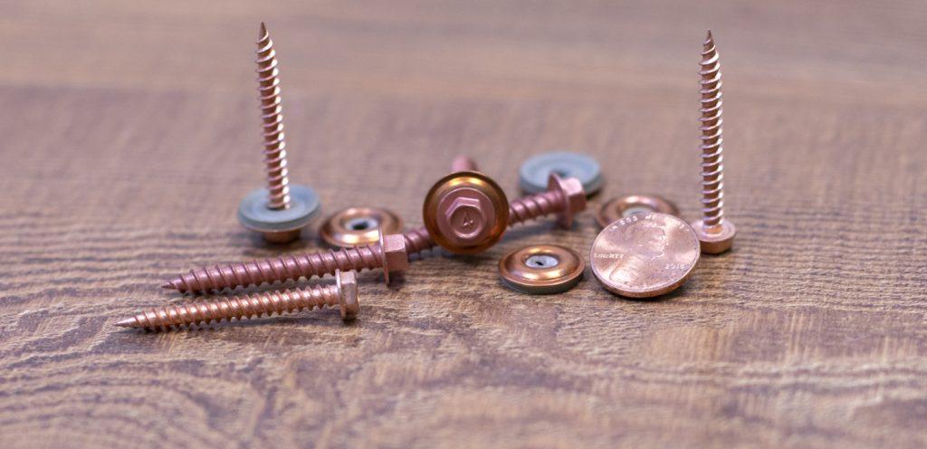 bg copper hwh screws