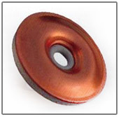 neoprene bonded copper washer