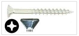 particle board flat head phillip drive particle board screw