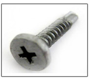 dacro pancake head phillips drive panel clip