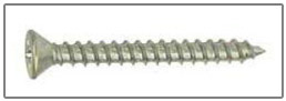 phillips flat head sheet metal screws