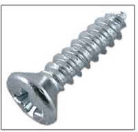 phillips oval head metal screws