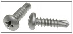 phillips pan head self drilling screws