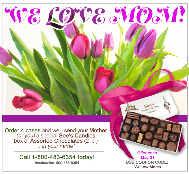 Mother's Day Fastener Special