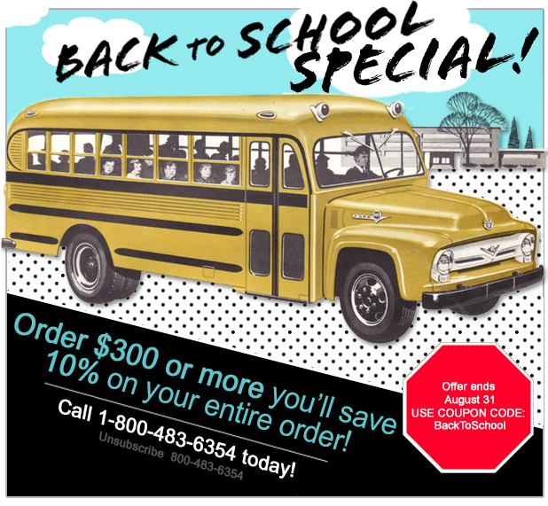 Back to School Fastener Special