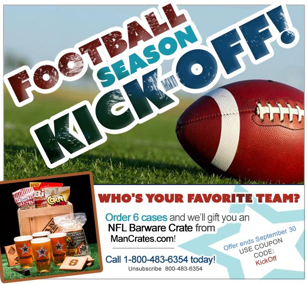 Football Season Fastener Special