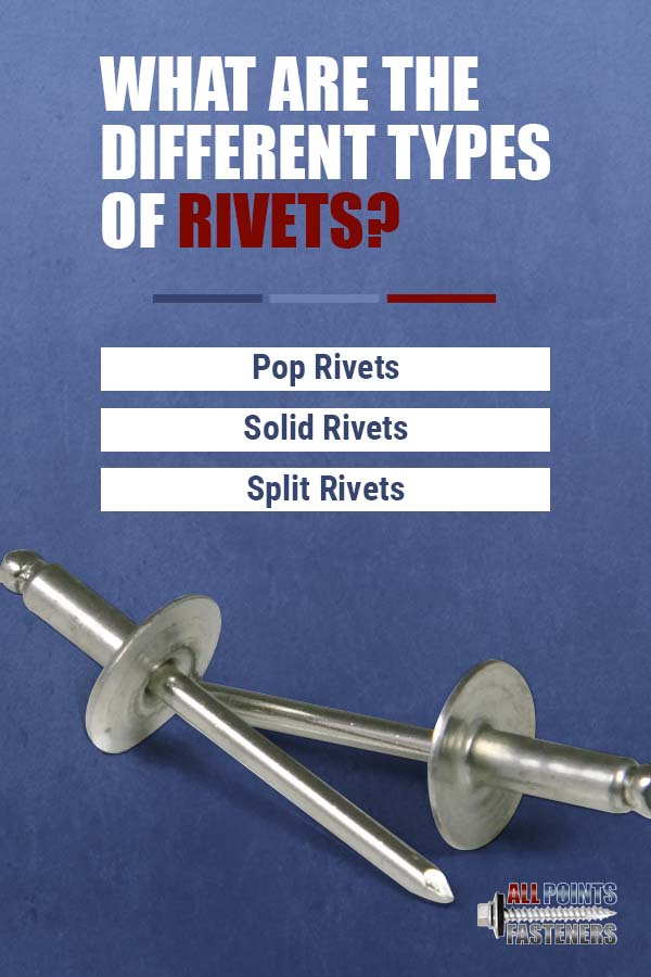 different types of rivets