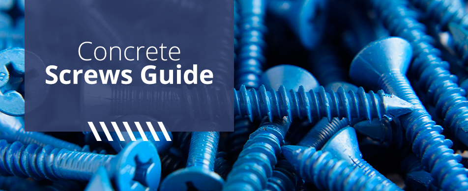 concrete screw guide